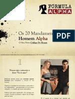 Os 20 Mandamentos do Homem Alpha