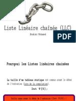 Liste-linéaire-chainée(linked list)