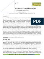 Traditional Knowledge and S Devpt.pdf