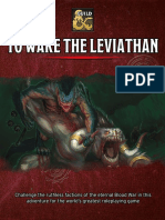 To Wake the Leviathan
