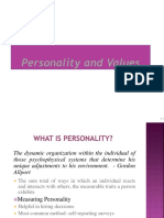 CH 05 Personality and values