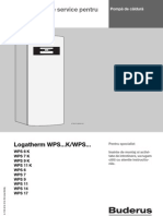 Instructiuni Service Pompa de Caldura Buderus Logatherm Wps k