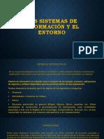 Los sistemas de información y el entorno