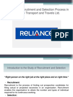 A Study on Recruitment and Selection Process PPT