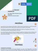 Proteínas y procesos enzimáticos