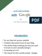 How Do I Index My Website With Google