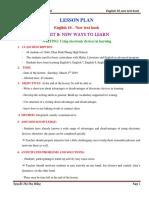 Hang-pdp-lesson-plan-writing