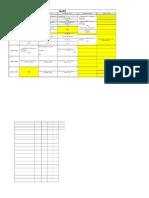 BJMC Sem II H Week 3 Time Table