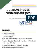 FACESM -FUNDAMENTOS DE CONTABILIDADE
