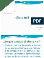 Presentación para Efecto Hall, OScar Pérez