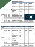 ACADEMIC PROGRAMME 17-28 FEB 2020