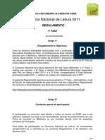 Regulamento Escola CNL 2010.11 ESAF