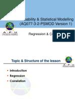 PSMOD_Regression  Correlation