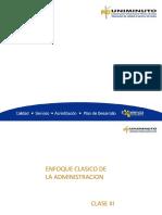 ENFOQUE CLASICO DE  LA ADMINISTRACION CLASE 3 (1)