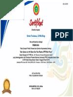 sertifikat panitia