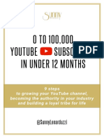 From 0 to 100,000 YouTube_Subscribers in under 12 months - PDF