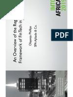 OLAYANJU - FinTech Regulatory Framework.pdf