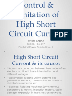 Control & Limitation of High Short Circuit Current.pptx