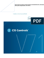 CIS Controls and Sub-Controls Mapping to ISO