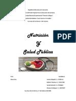 Nutricion y salud publica.