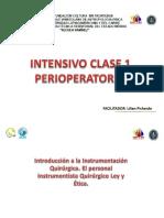 CLASE 1 ELECTIVA INTENSIVO DE PERIOPERATORIO.