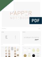 Papper Notebooks Catálogo