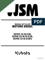 Manuel de Servicio KUBOTA