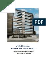 Informe Mensual SSOMA JULIO 2019