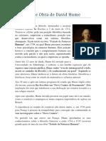 Vida e Obra de David Hume