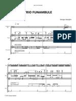 Aperghis Funambule Trio