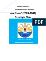 Stategy plan of CDE