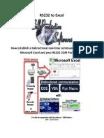 RS232-to-Excel-via-DDE-Macro-VBA