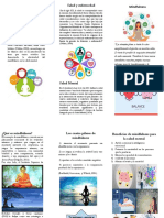 folleto stand Mindfulness