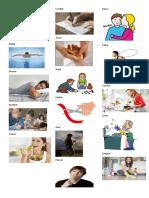 50 verbos con imagen español