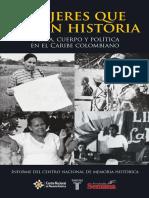 Mujeres que hacen historia - Tierra, cuerpo y política en el Caribe colombiano