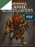 Warhammer - Classic Regiments of Renown.pdf