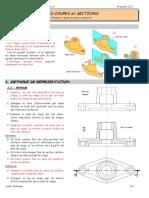 Introduction 1. METHODE DE REPRESENTATION Méthode. Dessin industriel _ Les coupes Chapitre 2