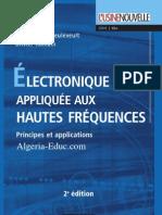 Electronique Appliquee Aux Hautes Frequences -