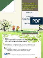 Pendidikan  IPS di SD PDGK 4106 Modul 6.pptx