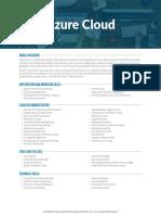 Azure Developer Role Learning Path (April 2019)