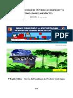CONCESSÃO DE REGISTRO - CAC Manual Do Processo de Exportação de Produtos Controlados Pelo Exército Lpco-du-e – Versão- Maio 2018
