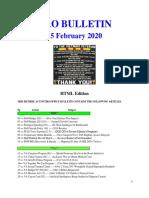 Bulletin 200215 (HTML Edition)