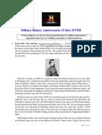 Military History Anniversaries 0215 Thru 022920