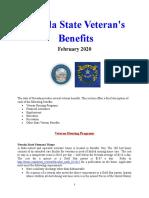 Vet State Benefits - NV 2020