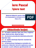 Fisiere Pascal