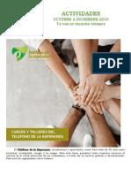 ACTIVIDADES OCT-DIC-2019