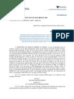 Legislação Armas - IN RFB Nº1634 - 2016