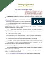 Legislação Armas - Lei 10834