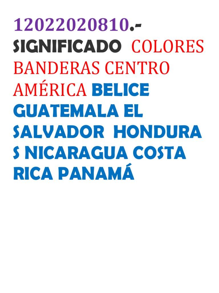 que significan los colores de la bandera salvadoreña