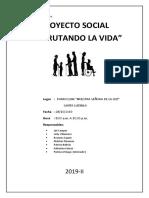 PROYECTO SOCIAL 2019-2